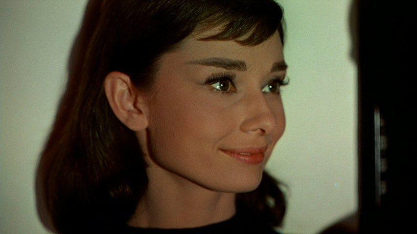 Funny Face Audrey Hepburn 1950s Beatnik Makeup